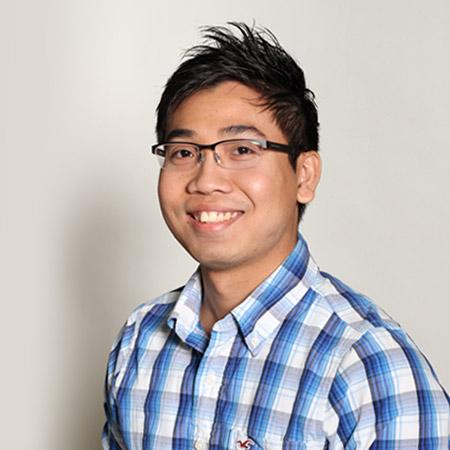 team member Adrian Luo