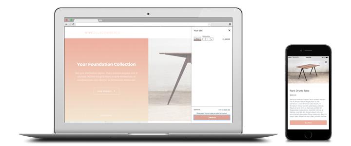 Hype Shopify and WordPress Theme