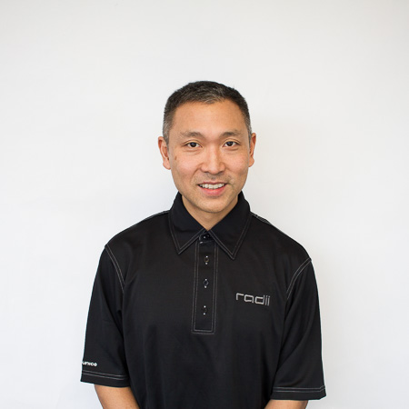 team member David Yoshida